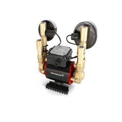 Grundfos STN 1.5 Bar Brass Negative Twin Impeller Shower Pump