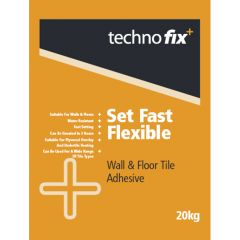 TechnoFix Fast Set Floor & Wall Adhesive White 20 kg