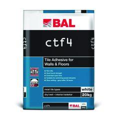 BAL CTF4 Floor & Wall Adhesive White 20 kg