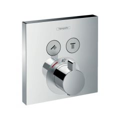 Hansgrohe Showerselect Thermostatic Mixer For Concealed Installation For 2 Outlets