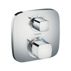 Hansgrohe Ecostat E Thermostatic Mixer For Concealed Installation For 2 Outlets With Shut-Off / Diverter Valve