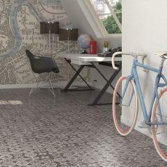 World Parks Tiergarten Ceramic Floor & Wall Tile 31.6x31.6cm (Multicolour)