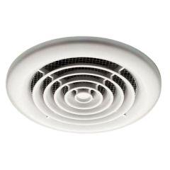 HIB Cyclone Wet Room Inline Fan (White)