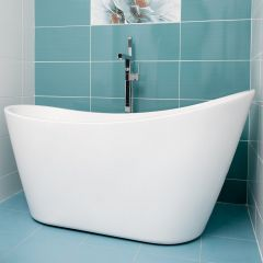 Relax Freestand Bath 1660x725x740mm Including Waste & OverFlow