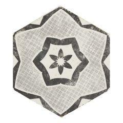 Eden Hex Porcelain Floor & Wall Tile 21x18.2cm (Bianco)